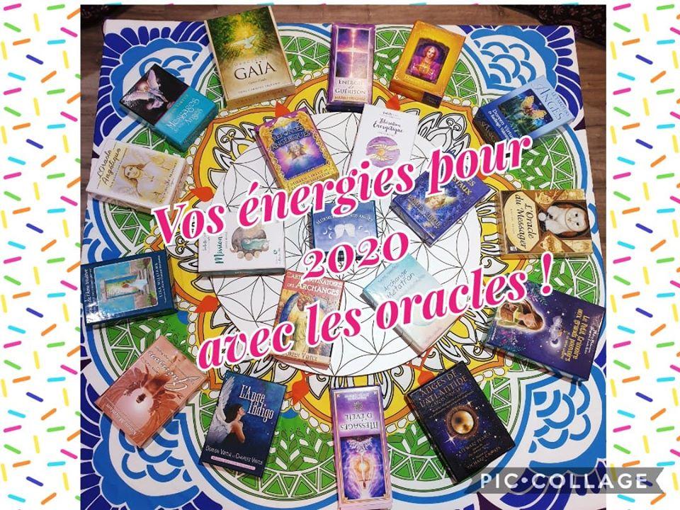 Soirée Vos énergies pour 2020 avec les oracles