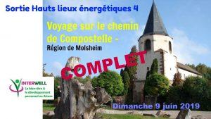 Sortie Hauts lieux Energétiques n°4 Sur le Chemin de Compostelle