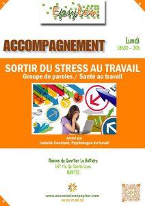 Sortir du stress au travail Accompagnement / Santé au Travail @ MDQ La Bottière