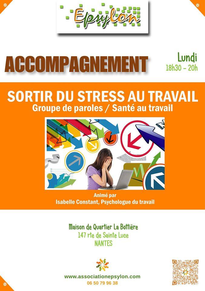 Sortir du stress au travail Accompagnement / Santé au Travail