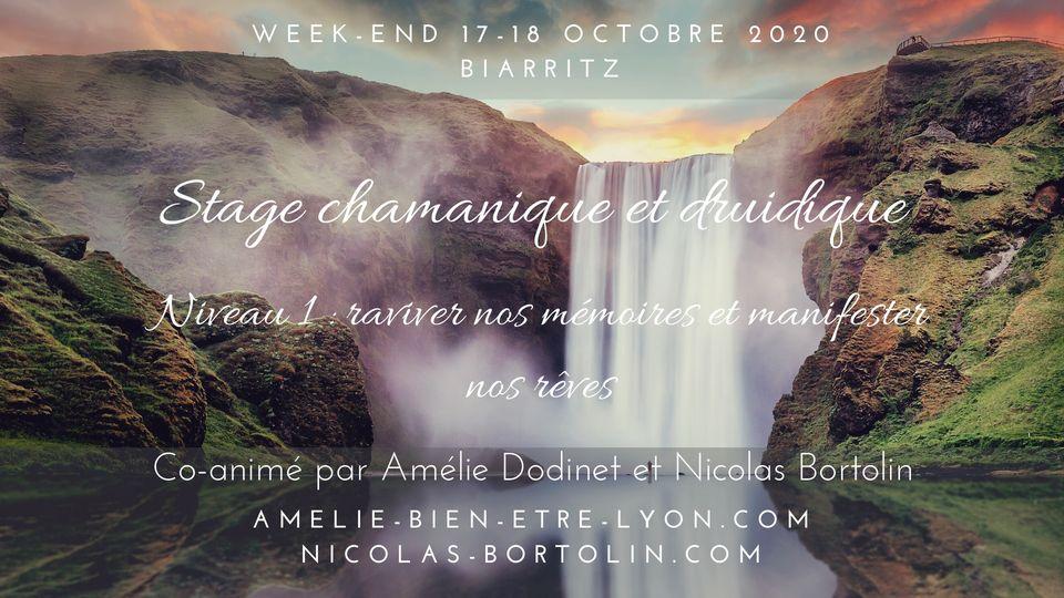 Stage chamanique et druidique – Niveau 1 – Biarritz