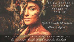 Stage De la déesse à la chamane - Cycle 1 : Libère tes lignées @ La Fontaine Des Lys