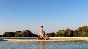 """Stage de yoga & nutrition """"A l'écoute de soi"""" du 16 au 22 aout @ Domaine du Taillé"""