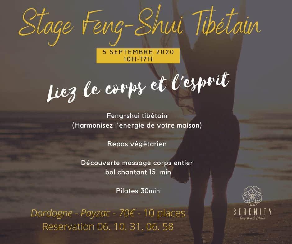Stage Feng Shui Tibétain à 24270 Payzac