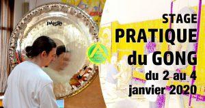 Stage Pratique du Gong janvier 2020