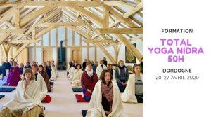 Total Yoga Nidra 50h TTC 2020 @ Moulin de Chaves