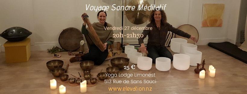 Voyage Sonore Méditatif à 69760 Limonest
