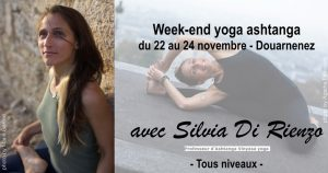 Week-end yoga ashtanga 22 au 24 novembre @ Plage Des Sables Blancs, Douarnenez