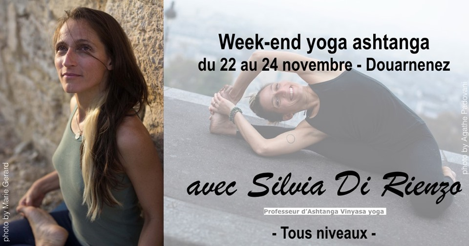 Week-end yoga ashtanga 22 au 24 novembre