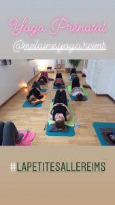 Yoga Prénatal Reims @ Mélaine Yoga Reims